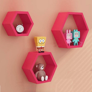 Pink Diamond Separator Wall Shelf - Send Gifts to Mohali