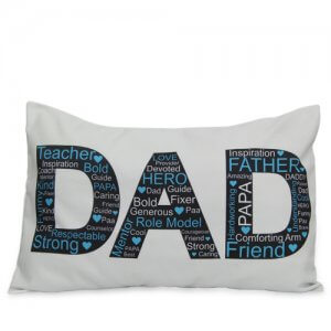 Dad Pillow Cover - Send Personalised Cushions Online