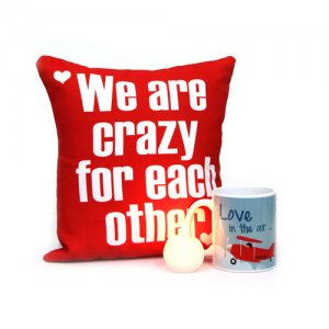 Lunatic Valentine Lot - Send Personalised Cushions Online