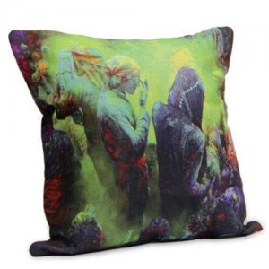 Special Holi Cushion - Online Gifts