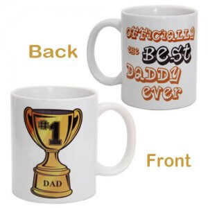 Champ Mug For Dad with Ceramic Material - Online Gifts