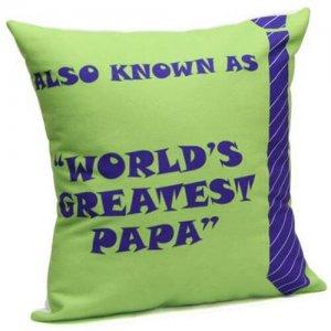 Best Dad Cushion - Online Gifts