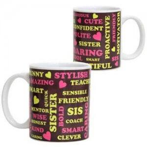 Ceramic Mug For Sister - Online Gifts