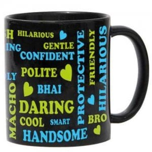 Mug For Brother with Ceramic Material - Online Gifts
