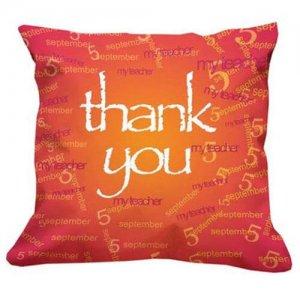 Thank You Teacher Cushion