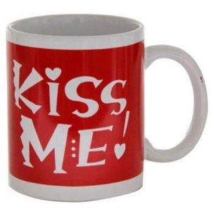 Kiss Me Ceramic Mug - Online Gifts