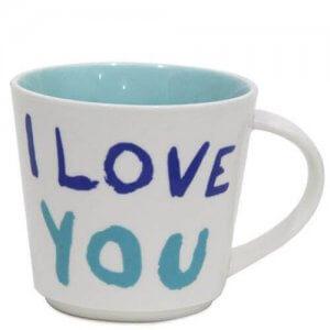 I Love You Ceramic Mug - Mugs