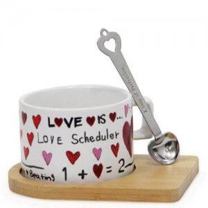 Love Scheduler Ceramic Mug