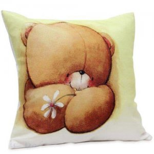 Teddy Cushion - Kiss Day Gifts Online