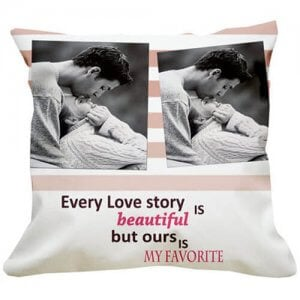 Favourite Love Story Cushion