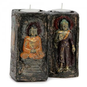 Ecstatic Buddha T-Light Holder - Online Gifts
