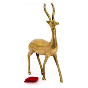 Brass Deer Miniature
