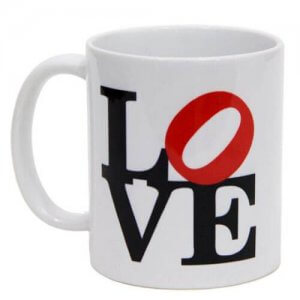 Love Ceramic Mug - Mugs