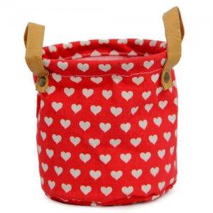 Red Heart Bag Planter