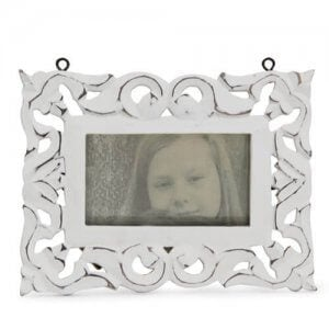 Lovely White Photo Frame - Personalised Gifts for Mothers Day