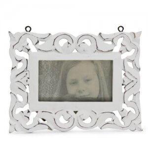 Lovely White Photo Frame