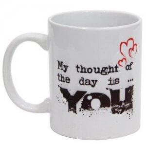 Thoughtful Love Ceramic Mug - Mugs