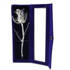 Silver Rose - Propose Day Gifts Online