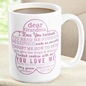 Printed Mug For Grandma