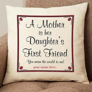Personalize Cushion For Mommy