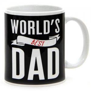 Worlds Best Dad Ceramic Mug - Online Gifts