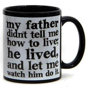 Dad My Idol Ceramic Mug - Online Gifts