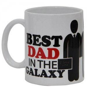 Best Dad White Ceramic Mug - Online Gifts