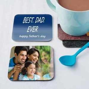 Set of 4 Personalize Coasters - Personalised Gifts for Mothers Day
