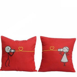 Cute Couple Cushions - Cushion
