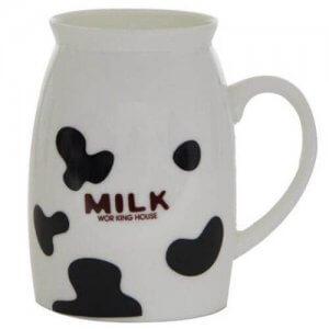 Milk Menu Cup  with Ceramic Material