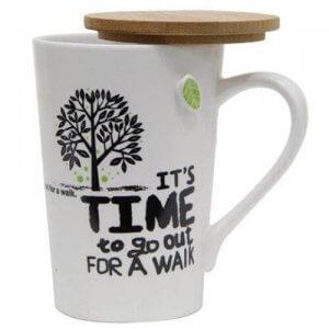 Lets Take A Walk Ceramic Mug - Mugs