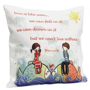 Cute Love Cushion - Propose Day Gifts Online
