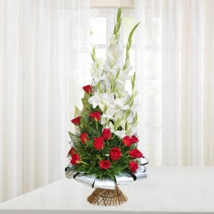 Beauty of Red and White - Birthday Gifts for Him