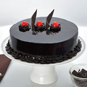 Online Choco Truffle Cake 1kg - Cake Delivery in Hisar