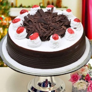 Online Black Forest 1kg - Regular Cakes