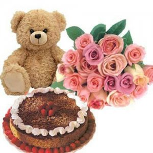 Eternal Love Hamper - Five Star Bakery - Birthday Cake Online Delivery - Send Five Star Cake Online