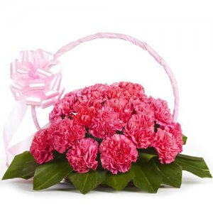 Memorable Moments 20 Pink Carnations Online from Way2flowers - 20th Anniversary Gifts