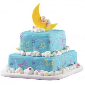 Yellow Baby Bum Baby Shower Cake - Online Cake Delivery - Send Baby Shower Cakes Online