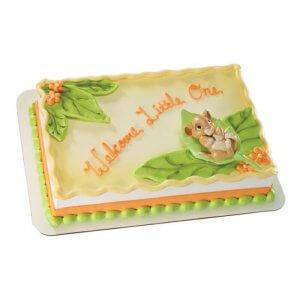 Girl Baby Shower Cake - Send Baby Shower Cakes Online