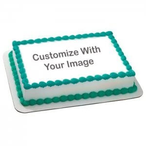 Personalised Palatable Cake 1 Kg - Online Cake Delivery - Send Personalised Photo Cakes Online