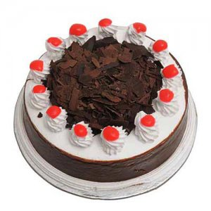 Eggless Blackforest Cake 500 Gms Online from Way2flowers