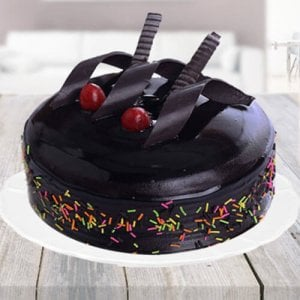Rich Chocolate Truffle Cake - Online Cake Delivery In Ludhiana