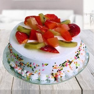 Fresh Fruit Cake - Birthday Cakes for Her