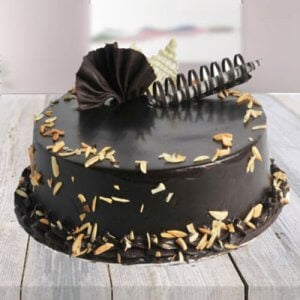 Choco Almond Cake - Cake Delivery in Chandigarh