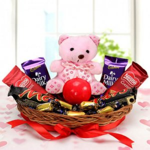 Chocolaty Love - Online Flower Delivery in Mohali