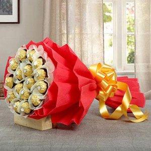 Bouquet of Sweetness - Anniversary Chocolates