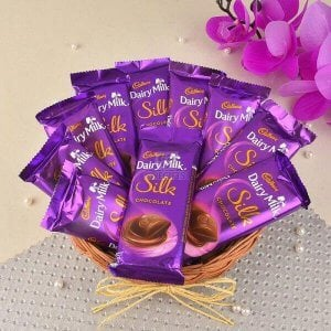 Silky Hamper - Send Diwali Chocolates Online