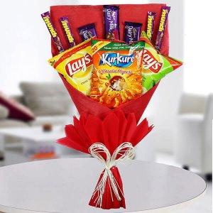 Sweet Munching Bouquet - Anniversary Chocolates