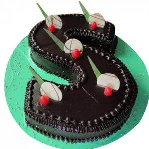 Chocolate Truffle Alphabet Cake - Send Chocolate Truffle Cakes Online