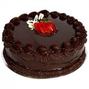 Chocolate Truffle Cherry Cake - Send Chocolate Truffle Cakes Online